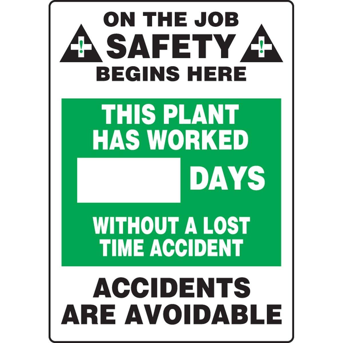 Days Since Accident Scoreboard – Business Performance Improvement (BPI)