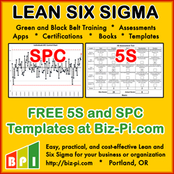 free lean six sigma downloads and templates